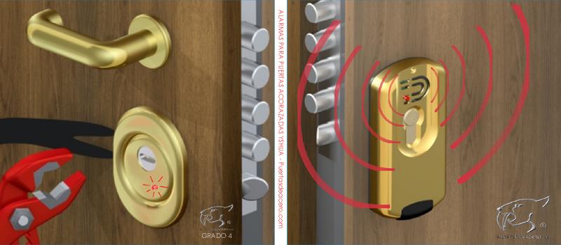 Alarma para puertas acorazada Yshua