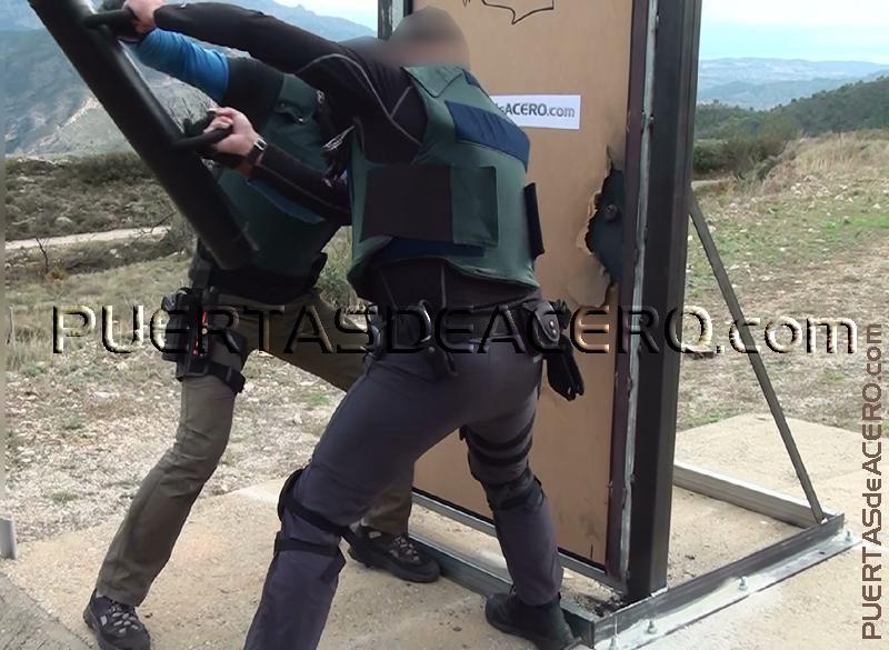 pruebas de resistencia realizadas con las fuerzas de seguridad del estado