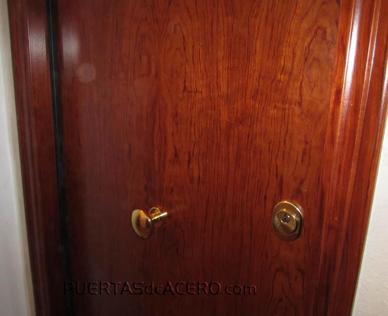 Puerta acorazada preparada para grado 5