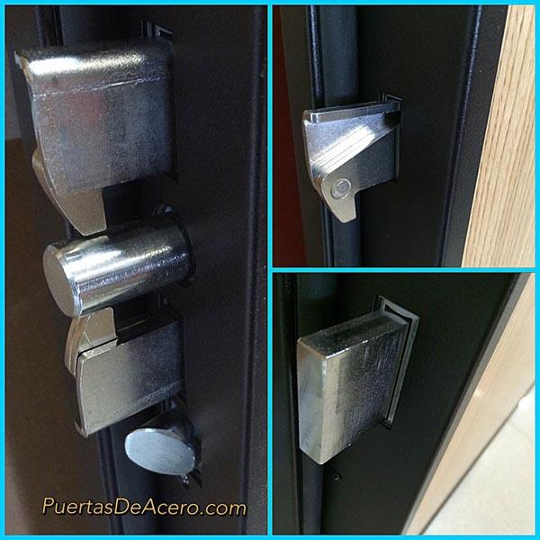 Ganchos de bloqueo automático con 3 ganchos y paletones