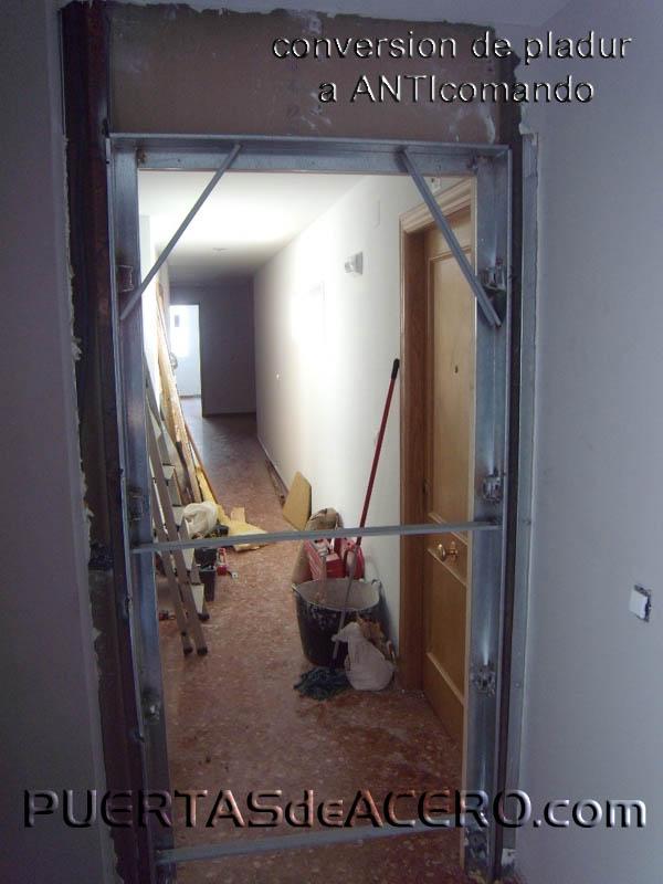 Colocar barras de acero estructural, la mejor solución para estos casos