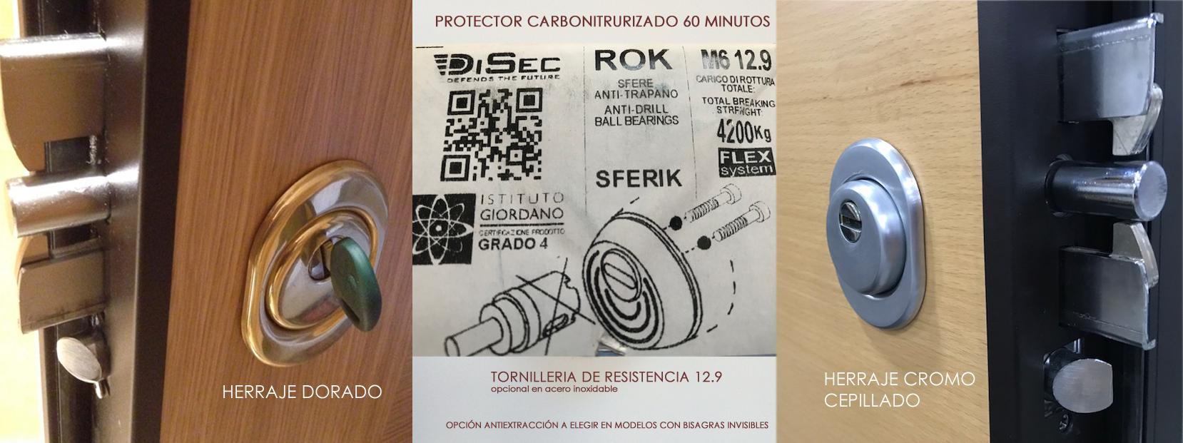 protector carbonitrurizado defender