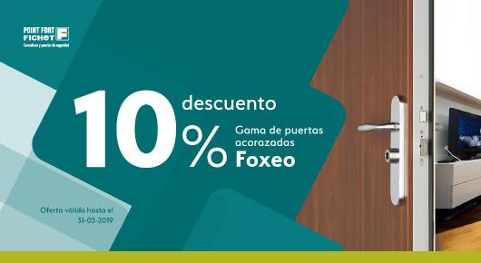 Descuento extra por llevarte tu Foxeo S o por tu Foxeo His