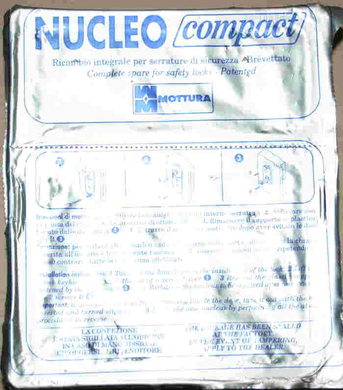 Paquete Gorjas Mottura con 5 copias
