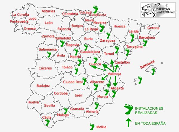 INSTALAMOS EN CUALQUIER PARTE DE ESPAÑA