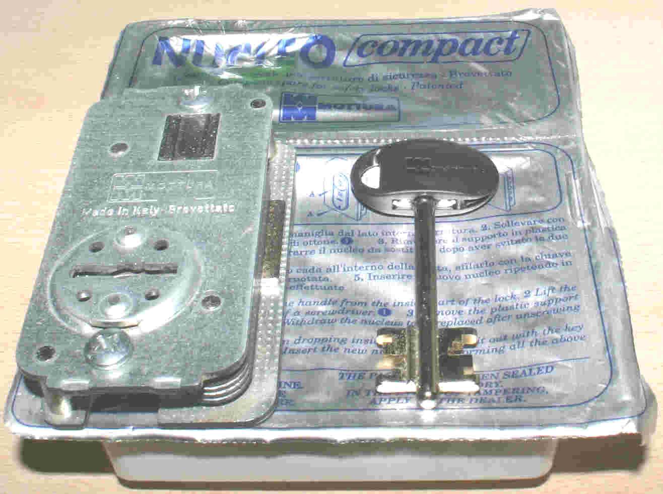 Codigo de llaves para puerta Modelo Basic1 GORJAS de 2 vueltas