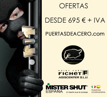 puertas desde 695 euros + iva